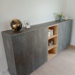 mobilier bois moderne sur mesure brétignolles sur mer